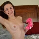 """Anastasia is a nubile young female. She quite enjoys her shower head, her fingers, and her hitachi wand. She has used many toys in her exploration of her body, but prefers her own fingers over most. Her entire body contracts, her skin flushes with heat, and she feels waves of pleasure as they hit when she orgasms. She is a multi-orgasmic girl who can cum from clitoral stimulation, even from her boyfriends motorbike. She thinks she tastes delicious and loves to have her nipples stimulated, if they are sucked on, she cums really hard.   Vital Stats:  Age: 19 Height: 5'7"""" Hometown: Las Vegas, Nevada Hobbies: Laughing, hiking Astrological Sign: Libra"""